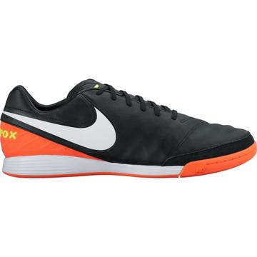 Nike Hallenschuhe TIEMPOX MYSTIC V IC BLACK/WHITE-HYPER ORANGE-VOLT 819222-018