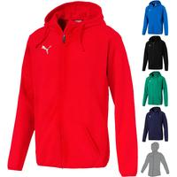 Puma LIGA Casuals Hoody Jacket Junior 655938
