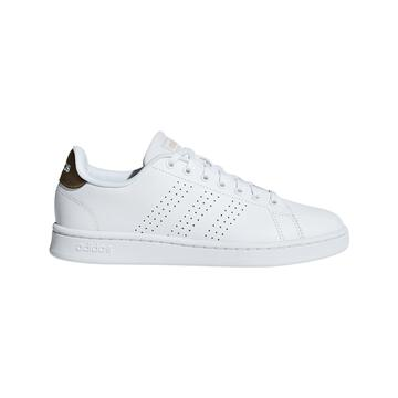 adidas Advantage Sneaker Damen weiß/metallic