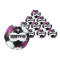 Derbystar Bundesliga Brillant Replica 2020/21 10-er Ballpaket