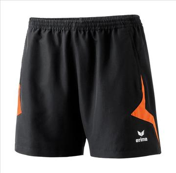 Erima RAZOR Short schwarz/orange 109112