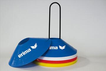 Erima Markierungshütchen Set red/blue/yellow/white 724103