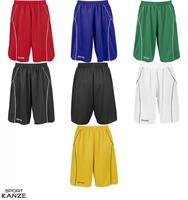 Spalding Crossover Shorts rot/weiß