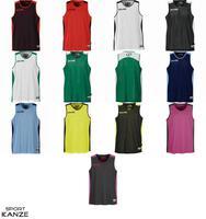 Spalding Essential Reversible Shirt rot/schwarz