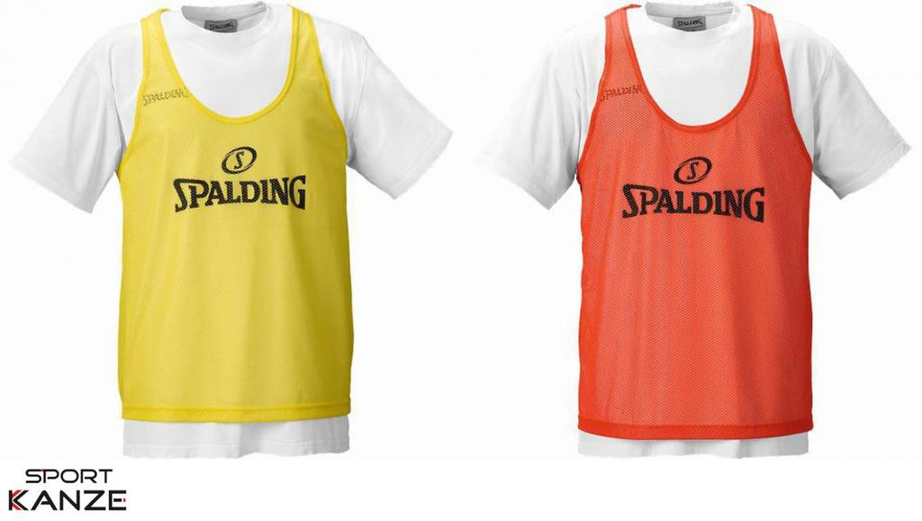 Spalding Training Bib gelb