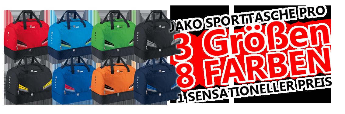 JAKO Sporttasche Pro